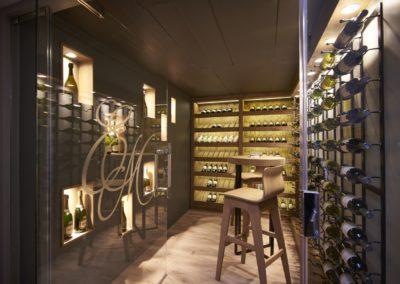 Zoosh wine cellar