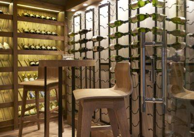 Zoosh wine cellar 3